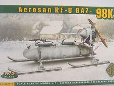 Schneemobil Aerosan RF-8 Gaz  98 K  - ACE  Bausatz 1:72 -  72517   #E