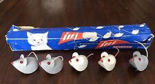 5 Lehmann Ihi 935 Mice Mouse In Store Display Friction Powered West Germany