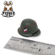 Unibrick Minifig German Wwii Headwear_ M42 Green Helmet _ Custom Brick Un001B