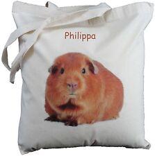 Personnalisé cobaye coton sac épaule shopper