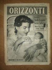 RIVISTA ORIZZONTI - N.7 DEL 13 FEBBRAIO 1955 (OK3)