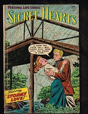 "Secret Hearts #25 ~ DC Romance ""Stormy Love"" 1954 (4.0) WH"