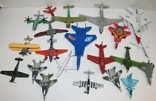 Huge Assorted Lot Of Die Cast & Plastic Airplanes Jets Planes Dinky Wannatoys PP