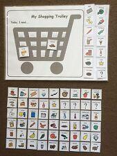 PECS/Boardmaker Supermarket Activity Pack for autism/ASD/SEN/ADHD