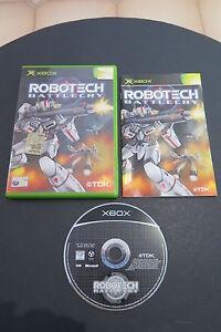 XBOX : ROBOTECH BATTLECRY ! Completo, ITA ! Compatibile con Xbox 360