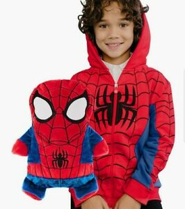 Cubcoats Spiderman 2 In 1 Hoodie Sweater Plush 10