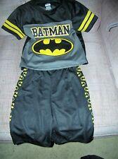 Batman Boys Black Character Top 2pc Short Set Size 4 (B16) new