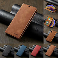 For iPhone 12Pro SE XR XS Max 6 7 8 Plus Magnetic Flip Wallet Leather Case Cover