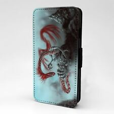 For Apple iPod Touch Flip Case Cover Dragon - T2094