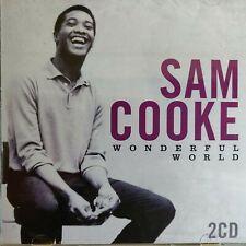 2CD NEW - SAM COOKE - WONDERFUL WORLD - R&B Soul 60's Pop Music 2x CD Album
