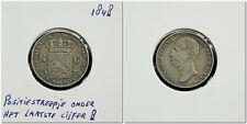 Netherlands - ½ Gulden 1848 positiestreepje onder het laatste cijfer 8 ~ Z.Fraai