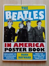 THE BEATLES –''IN AMERICA/POSTER BOOK''- BOOK HAND SIGNED AND DEDICATED BY M. H.