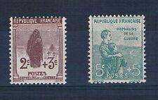 B2145 - TIMBRE DE FRANCE - N° 148 et 149 Neufs**