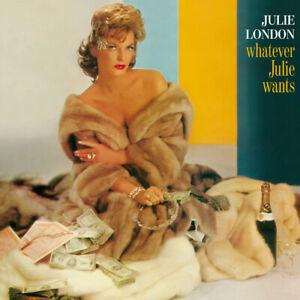 Julie London : Whatever Julie Wants CD Bonus Tracks  Album (2016) ***NEW***