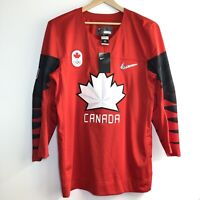 NEW Nike Team Canada Olympic Hockey Jersey Adult L Authentic NWT