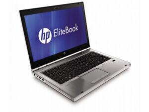 "HP Elitebook 8460p i5-2520 2.5 GHz, Webcam, Win 7/10 FPR 14"" HD+ 1600 x 900 px"