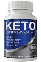Keto Blast Keto Diet Pills Weight Loss Supplement - Extreme Weightloss Keto T...