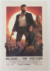 WonderCon 2019 Handout LOGAN Wolverine X Men X23 movie promo poster Hugh Jackman