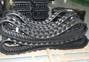 350x54.5x86  Rubber Track Set Qty 2 Kubota KX121-3
