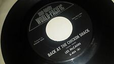 LES MCCANN Sack O' Woe / Back At The Chicken Shack WORLD PACIFIC 404 MOD JAZZ 45