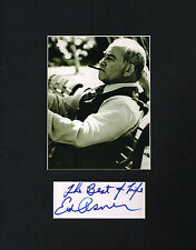 Ed Asner signed autograph auto Matted 11x14 Photo Actor: Mary Tyler Moore Show