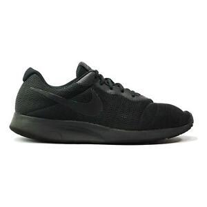 Nike Tanjun AQ3555-002 Black Low Top Athletic Men's Running Shoes Size 12 US