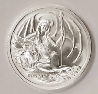 2019 Temptation Of The Succubus 2 oz .999 Fine Silver Capsuled BU Round W/COA