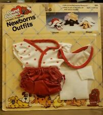 Pound Puppies Newborns Outfits Playset T-Shirt 1985 NEW Tonka