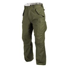Helikon Tex US M65 Hose Army Feldhose Outdoor pants OD Green oliv Large Regular