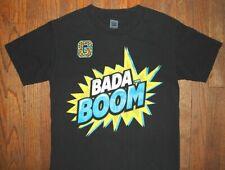 ENZO & BIG CASS / WRESTLER WWE WRESTLING USA / BADA BOOM / BLACK T-SHIRT SIZE S
