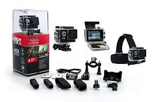 "ASX Action Pro -  Action Cam Camera FULL HD 720P 2"" Bike/helmet mounts"
