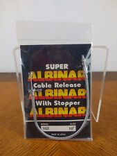 "VTG Albinar Super Cable Release Remote Shutter Button Model 102 10"" Camera Photo"