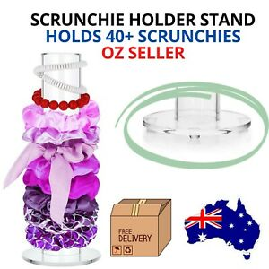 Scrunchie Stand Holder Australia Hair Accessories Organiser 30cm 40+ Scrunchies