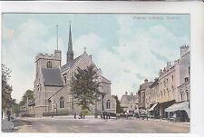 VINTAGE POSTCARD PARISH CHURCH, BARNET, LONDON