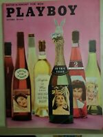 Playboy  October, 1958 * Very Good Condition * Free Shipping USA