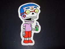 "MILHOUSE SIMPSONS MUERTO Art Sticker Print 2X4"" DIA DE LOS muertos JOSE PULIDO"