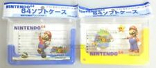 NINTENDO 64 CASSETTE CARTRIDGE GAME SOFT CASE SET SUPER MARIO JAPAN NEW