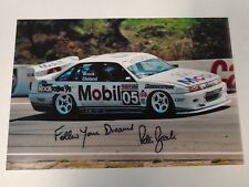 Peter Brock Signed Holden Photo 8 x 12 inches V8 Supercars