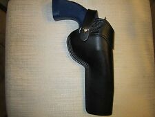 "RUGER GP 100 & S&W 686 & 586 357 MAGNUM WITH 6"" BARREL, RIGHT  HAND belt holster"