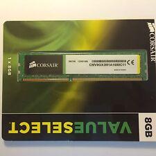 CMV8GX3M1A1600C11 Corsair Value Select 8GB Memory Module 1600MHz DDR3 240pin