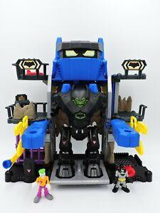 IMAGINEXT Robo BatCave playset with BatBot Exoskeleton robot NO Arms DC 2015