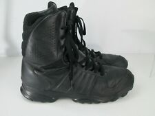 Adidas Size US 14 Boots Police Security Tactical GSG 807295 Black Leather