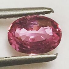 Natural 1.25 Carat Certified Unheated Pink Sapphire Genuine Loose Gemstone GIC