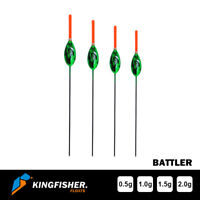 """CARP FISHING FLOAT The Kingfisher """"Battler"""" Pack of 4 HIGH QUALITY"""