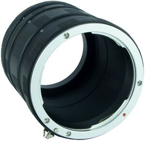 Macro Extension Tube For Canon EOS Camera 750D 5D 6D 60D 7D 70D 700D 1100D 650D