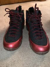 Nike Air Penny 1/2 Cent Cranberry Size 11 Jordan Red / Black