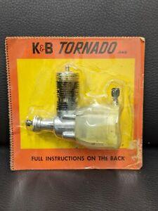 K&B Aurora Tornado .049 Model Airplane Engine New!