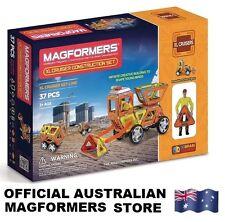 Genuine MAGFORMERS XL Cruisers CONSTRUCTION Set - 37 pcs - 3D Magnetic building