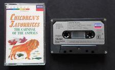 Cassette Children's Favourites - The Carnival Of The Animals Decca Classics Nm