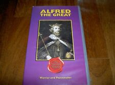 ALFRED THE GREAT Warrior & Peacemaker Documentary Cromwell Films UK PAL VHS